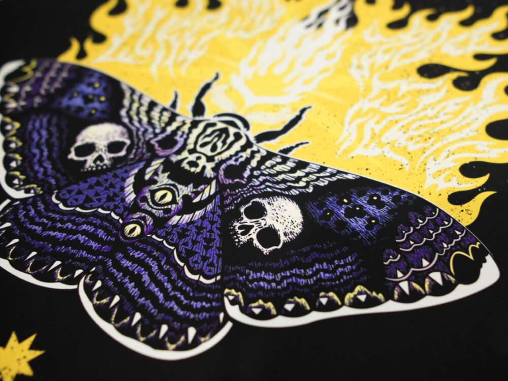 Moths to Flame detail