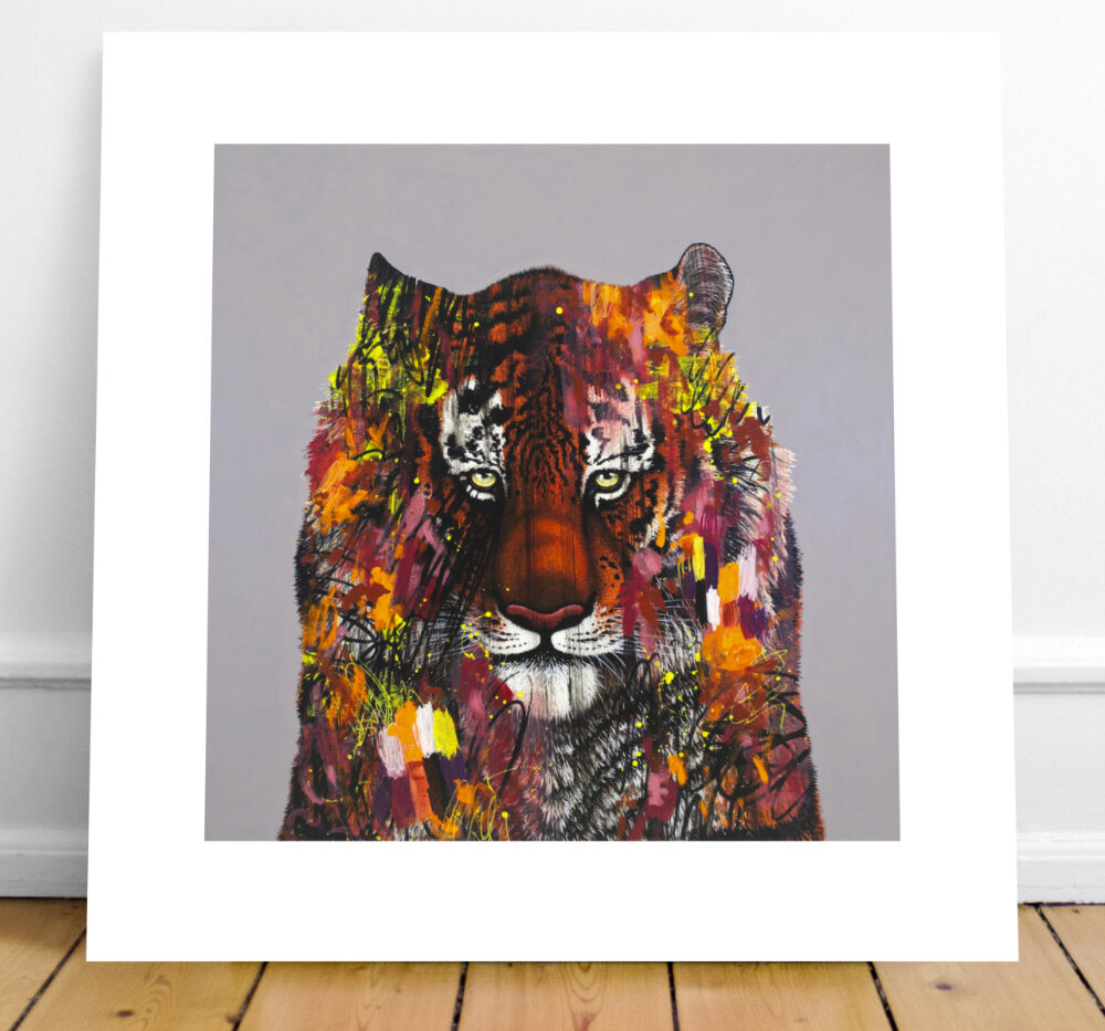 Siberian Tiger Limited Edition Print