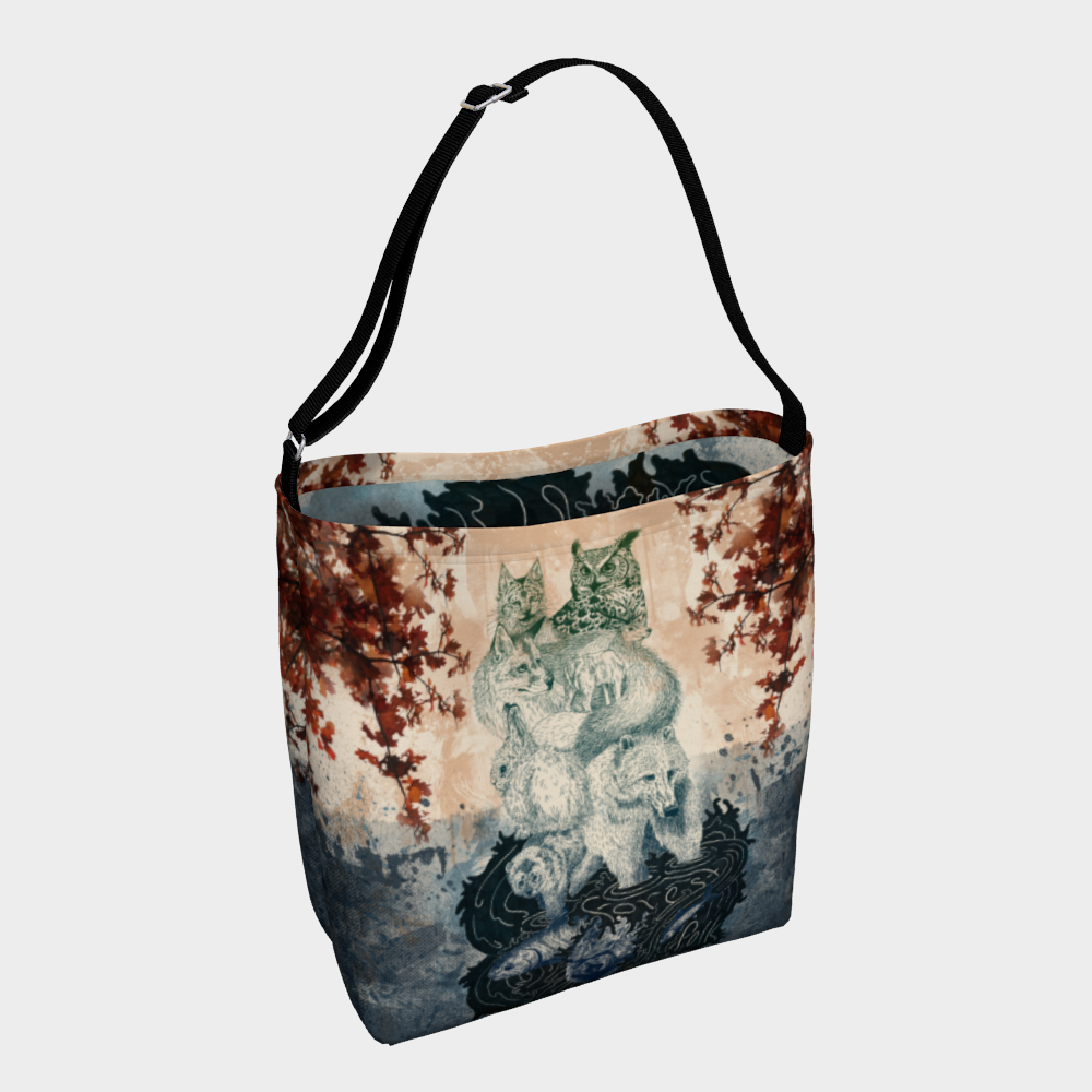 Forest Folk Day Tote